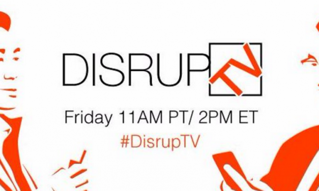 The Industrial Internet, Accelerator in a Box and Retail Disruption on #DisrupTV