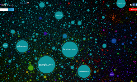 Mapping the Internet – 1973 to Now